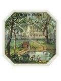 Green Cove Brand Cigar Box Label Posters