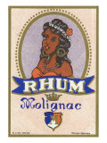 Rhum Molignac Rum Label Prints
