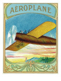 Aeroplane Brand Cigar Box Label, Aviation Posters by  Lantern Press