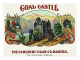 Coal Castle Brand Cigar Box Label Posters