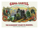 Coal Castle Brand Cigar Box Label Posters by  Lantern Press