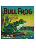 Winter Garden, Florida, Bull Frog Brand Citrus Label Posters