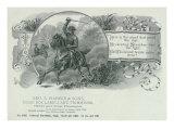 General Philip Sheridan Brand Cigar Box Label Prints