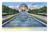 Chicago, Illinois, Grant Park View of the Adler Planetarium Prints by  Lantern Press