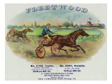Fleetwood Brand Cigar Box Label, Horse Racing Art by  Lantern Press