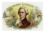 Barry Lyndon Brand Cigar Box Label Prints