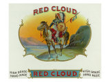 Red Cloud Brand Cigar Box Label Posters by  Lantern Press