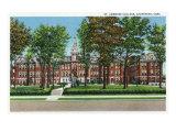 Davenport, Iowa, View of St. Ambrose College Prints