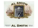 Al Smith Brand Cigar Box Label, Former Governor of New York Prints