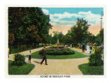 Peoria, Illinois, Scenic View in Bradley Park Prints by  Lantern Press