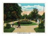 Peoria, Illinois, Scenic View in Bradley Park Prints