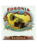 Edsonia Brand Cigar Box Label Print