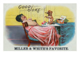Good Joke Brand Cigar Box Label Art