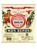 Rhum mon Repos Brand Rum Label Prints