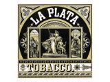 La Plata Brand Tobacco Label Posters