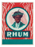 Rhum Rum Label Posters by  Lantern Press