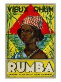 Vieux Rhum Rumba Brand Rum Label Prints