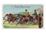 Our Trotters Brand Cigar Box Label, Horse Racing Prints