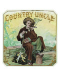 Country Uncle Brand Cigar Box Label Prints