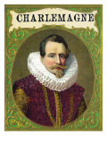 Charlemagne Brand Cigar Box Label Prints by  Lantern Press