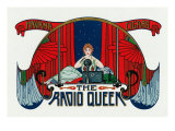 The Radio Queen Brand Cigar Box Label Prints by  Lantern Press