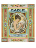 Petersburg, Virginia, Zadie Brand Tobacco Label Art