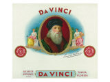 Da Vinci Brand Cigar Box Label, Leonardo da Vinci Prints