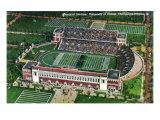 Champaign-Urbana, Illinois, University of Illinois, Aerial View of Memorial Stadium Posters