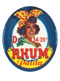 Rhum Palita Brand Rum Label Poster by  Lantern Press