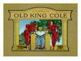 Old King Cole Brand Cigar Inner Box Label Prints
