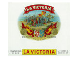 La Victoria Brand Cigar Box Label Art