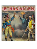 Ethan Allen Brand Cigar Box Label Art