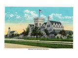 Peoria, Illinois, Exterior View of the Bradley Polytechnic Institute Print