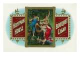 Hoffman House Brand Cigar Box Label Print