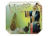 Wizard Brand Cigar Box Label Prints by  Lantern Press