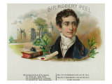 Sir Robert Peel Brand Cigar Box Label Posters