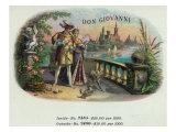 Don Giovanni Brand Cigar Inner Box Label Prints by  Lantern Press