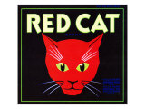 Villa Park, California, Red Cat Brand Citrus Label Prints