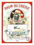Rhum du Creole Brand Rum Label Posters by  Lantern Press