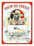 Rhum du Creole Brand Rum Label Posters