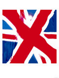Union Flag, London Giclee Print by  Tosh