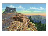 Sandia Mountains, New Mexico, Scenic View from Kiwanis Point Poster