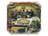 Pastime Brand Cigar Outer Box Label Poster