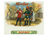 Bombay Brand Cigar Box Label Prints by  Lantern Press