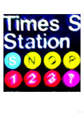 Subway Sign, New York Posters by  Tosh