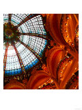 Galleries Lafayette Ceiling, Paris Prints by Tosh