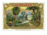 La Helena Brand Cigar Box Label Posters