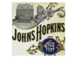 Johns Hopkins Brand Cigar Box Label Prints