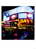 Piccadilly Circus Lights, London Prints by  Tosh