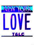 Love NY License Plate, New York Poster by  Tosh
